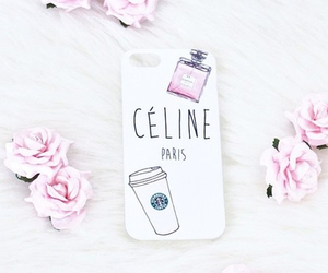 celine, iphone, and pink image