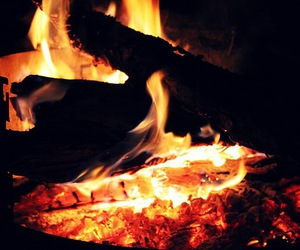 fire, Hot, and red image