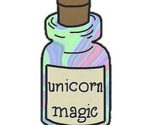 magic, unicorn, and unicórnio image