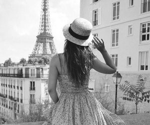 black and white and girly image