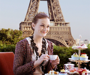 paris, gossip girl, and leighton meester image