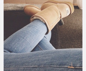 ugg, uggs, and jeans image