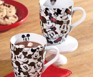 disney, minnie, and mug image