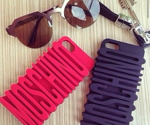 case, iphone, and Moschino image