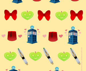 bowtie, doctor who, and fez image