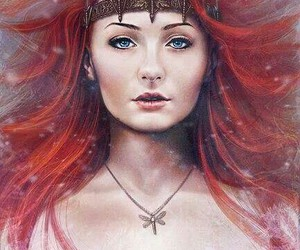 game of thrones, sansa stark, and stark image