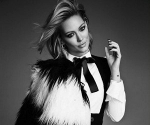 Hilary Duff, elle canada, and girl image