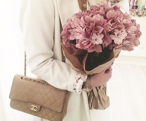 flowers, fashion, and chanel image