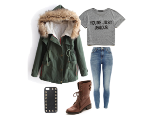 autumn, jeans, and november image