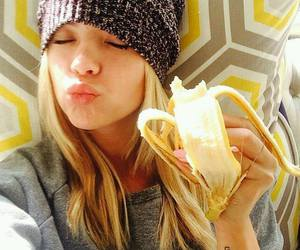 ashley benson, pll, and banana image