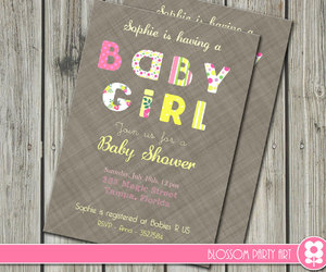 baby girl, decoration, and diy image