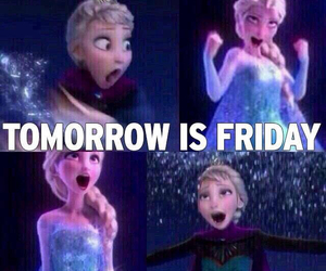 friday, frozen, and funny image