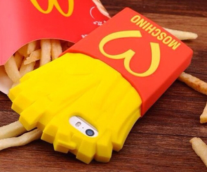iphone, cover, and McDonalds image