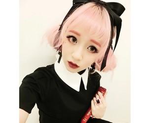 black, fashion, and Halloween image