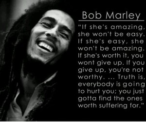 bob marley, qoute, and the one image