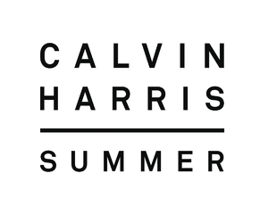 summer, calvin harris, and song image