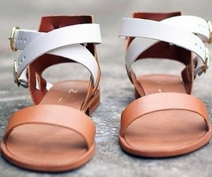 sandals, fashion, and shoes image