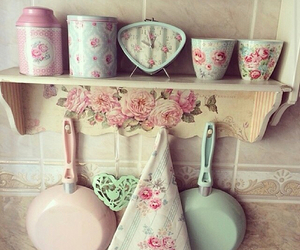 classy, rose, and kitchen image