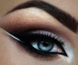 make up, eyes, and fashion image