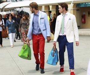 bag, milan, and street style image