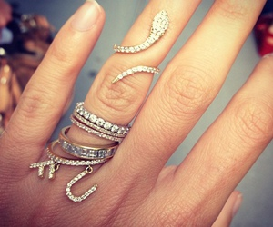 rings, girly, and style image