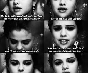 selena gomez, quotes, and song image