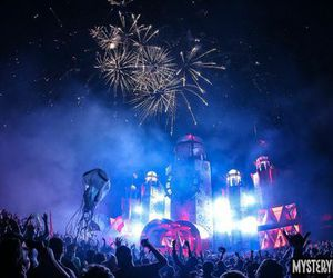 festival, music, and PLUR image