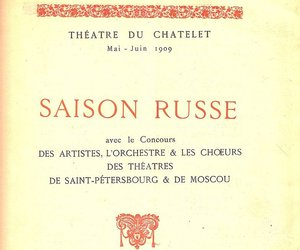 book, vintage, and ballet russe image