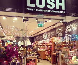 girls, lush, and soap image