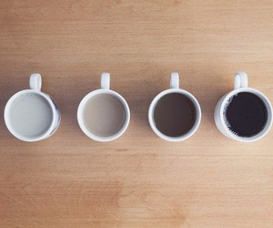 coffee, milk, and cup image
