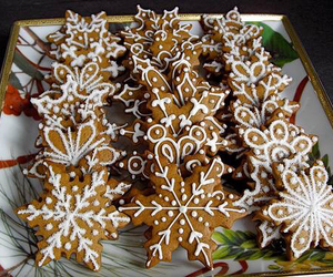 advent, december, and gingerbread image