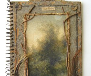 journal, nature, and notebook image