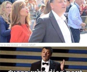 doctor who, steven moffat, and jenna coleman image