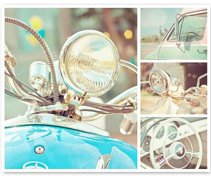 blue, pastel, and vintage image