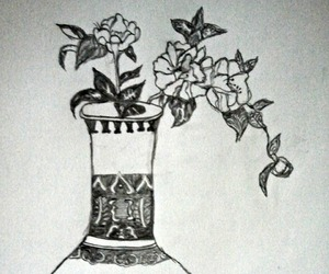 art, decoration, and flowers image