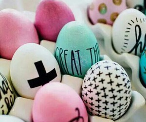 cool, easter, and eggs image