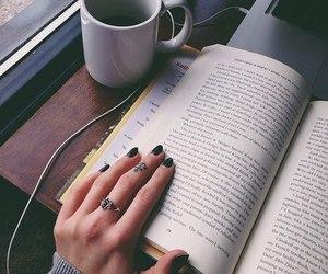 book, cofee, and mug image