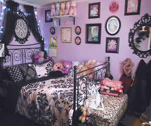 room, bedroom, and kawaii image