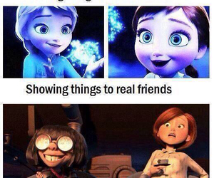 funny, friends, and frozen image