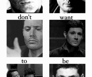 dean, dean winchester, and demon image