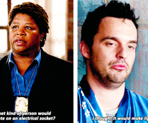 quotes, 4x06, and new girl image