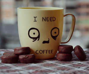 coffee, chocolate, and cup image