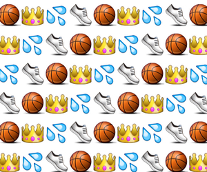 Basketball, emoji, and emojis image