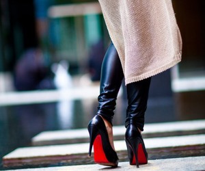 fashion and louboutin image