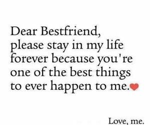 love and best friends image
