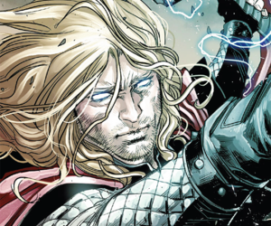 comics, Marvel, and thor image