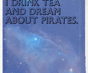pirate, tea, and Sunday image