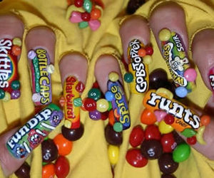 nails and candy image