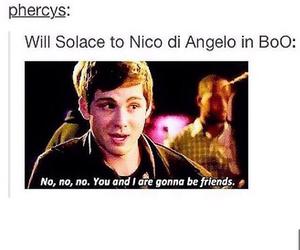 fandom, percy jackson, and nico di angelo image