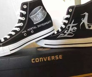 beautiful, converse, and the mortal instruments image